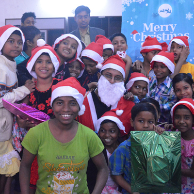 SOS children Christmas Celebration